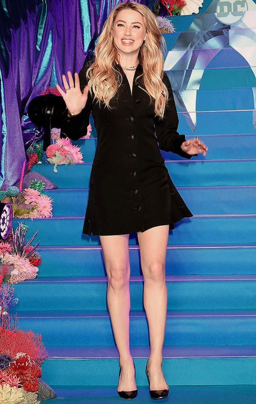 Фото голой американской актрисы Эмбер Хёрд ( Amber Heard )